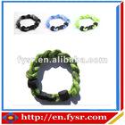 Sports Titanium braided rope bracelets