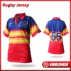 Nimblewear Sublimated Short Sleeve Rugby Jersey Women's