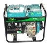 Diesel generator with welding