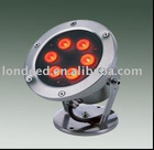 High Brightness LED Underwater light 7W wide lighting angle and long working life