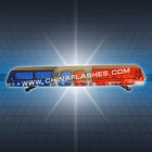 Warning Lightbar red blue amber clear LED3863