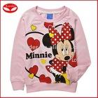 2012 latest fashion childrens clothing,plain cotton sweatshirts whithout hood