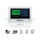 NEW Wireless GSM alarm system with LCD display and Touch keypad