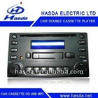car audio cassette adaptor with CD/USB