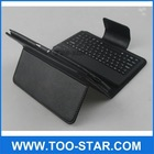 leather case with keyboard for 10 inch tablet