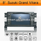 Suzuki Grand Vitara car DVD 8 inch HD digital screen with gps
