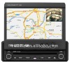 1 din 7 inch car digital touch screen dvd player with GPS&Bluetooth&ipod
