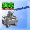 """Stainless Steel 3PC Butt Welding Ball Valve[Pressure:1000psi],[Material:SS304,SS316],[Size:1/4""""~4""""],[Thread:BSP,BSPT,NPT]"""