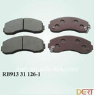 High Quality Brake Pad Set for KIA RB-9133-11261