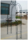 Metal garden flower rose arch