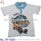 boy's cartoon Polo t-shirt