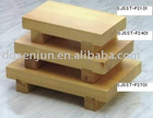 Wood Sushi Plate,sushi box,sushi machine,sushi container