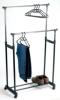 double bar adjustable garment racks