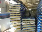fireproof rock wool sandwich wall panel