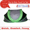 UV protect pop up baby travel cribs cot tent