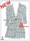 print single button long sleeve 2013 womens fashion jacket