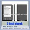 5 Inch TFT 800* 480 Panel E-book Reader