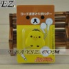 Cable Wire Earphone Winder For MP3/MP4 Earphone Wire Holder LF-025