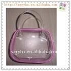 small pvc handbag