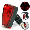 Laser bicycle taillights