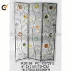 Great deal metal indoor folding screen