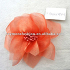 new charm orange flower corsage