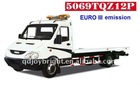 1.5ton road wrecker light duty,IVECO chassis,hydraulic system,Euro III emission,road obstacles