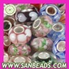 Murano Glass Beads with 925 Silver Core
