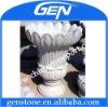 garden stone flowerpot