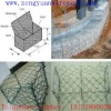 6*8mesh size 2*1*1.5galvanized pvc coated gabion mesh