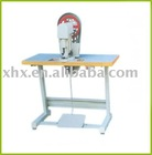 Semi-automatic eyelet machine for file folder