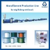 fish net monofilament yarn making machine, fish net monofilament yarn extrusion line