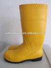 PVC wellington boots