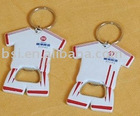 T-shirt shape bottle opener/ beer bottle opener/key chain bottle opener