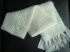 100% iceland yarn hand knitted scarf