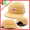 Custom natural cotton leather strap baseball cap