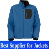 2013 waterproof & windproof fashion Men's softshell jacket