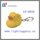 LP-6916 1 led key chain mini duck light