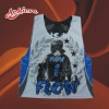custom partern sublimation printed lacrosse pinny pinnie
