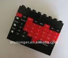 DIY ABS Building Block Perpetual Calendar