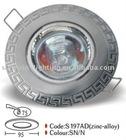 S197AD-SN zinc alloy spot light ceiling