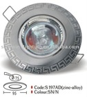 S197AD-SN zinc alloy spot light ceiling