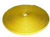 yellow rubber fire hose