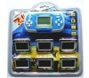 MULTI-CHANGEABLE CARTRIDGE:/Thunderclap attack BEST COMBINATION:brick game console
