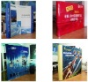 Pop Up Display Stand with Arkwork Printed