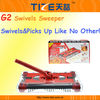 Cordless electronic sweeper TZ-TV668 Cordless magic sweeper with Rechargeable Battery