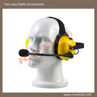 two way radio Heavy duty headset with Boom microphone