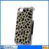 Slim Hard Case Back Cover Shield for Apple iPhone 4 4S Leopard Soft Hair Skin