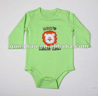 baby clothes 100% cotton embroidered short sleeve bodysuit