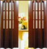 PVC piastic folding door